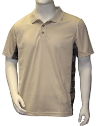 Oilfield Camo Tan Moisture Wick Polo $24.00 In Stock, Eligible for Free Shipping