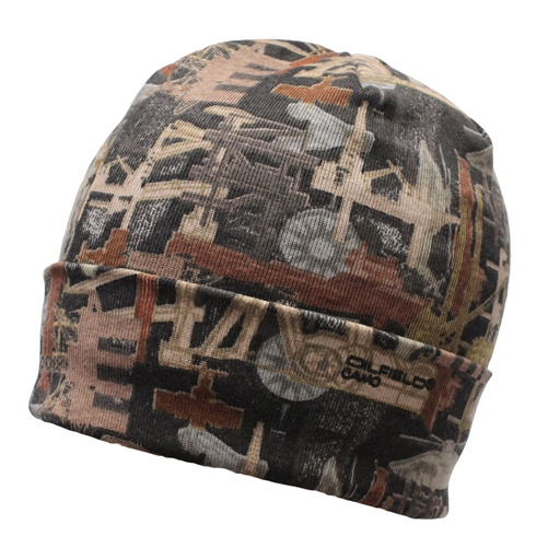 Oilfield Camo 12 Inch Cotton Twill Beanie LCB12 $11.99 In stock Eligible for free shipping