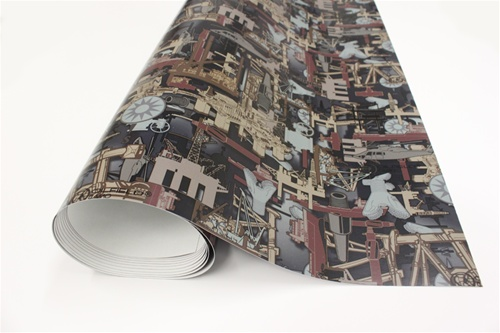 Oilfield Camo Premium Supercast Vinyl For Vehicle Wrapping
