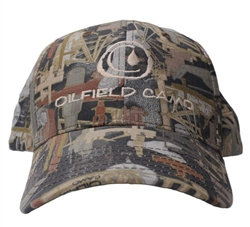 KATI SPORTCAP | OILFIELD CAMO STRUCTURED CAP WITH KHAKI DROP LOGO