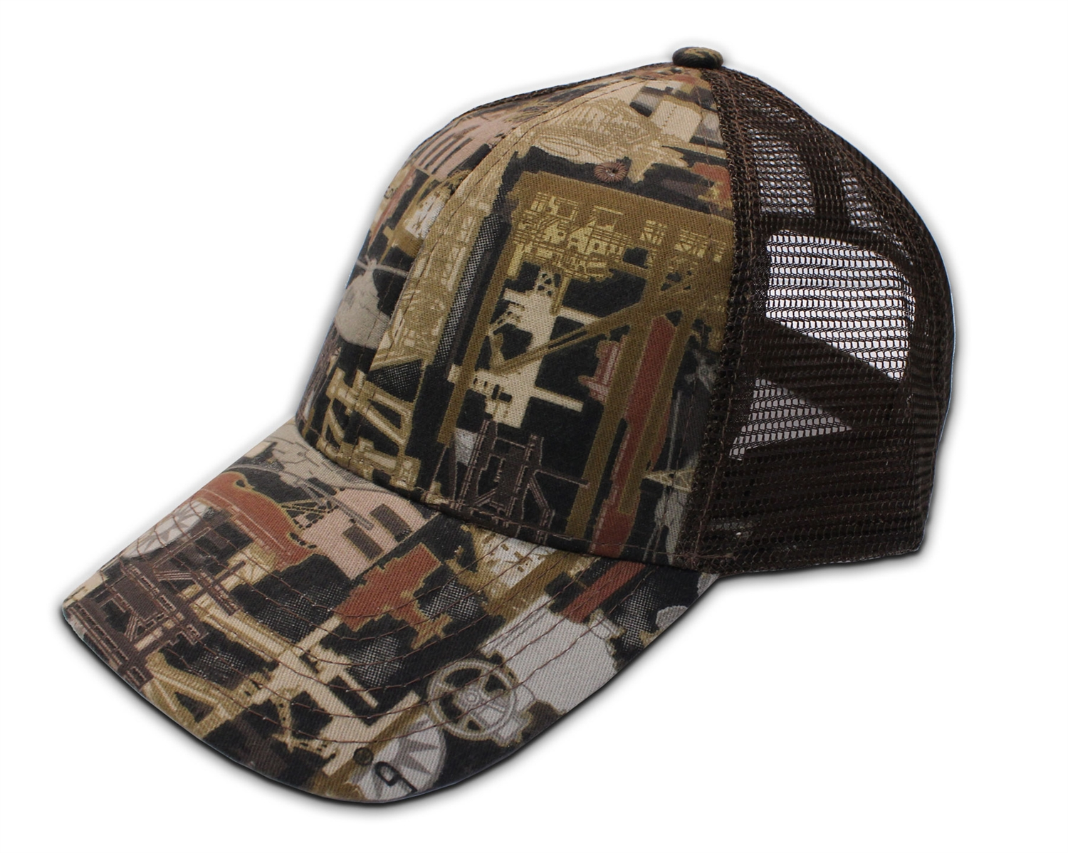 Kati Sportcap Oilfield Camo Brown Mesh Back Cap OIL5M-BLANK  8.00 In Stock  and Eligible for ... 587509474b2
