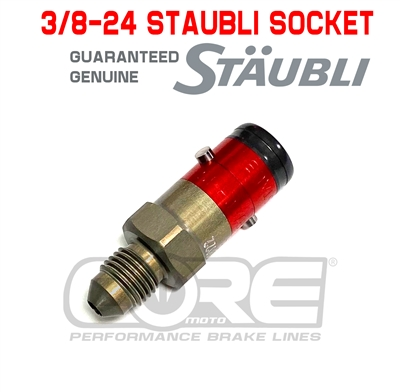 3/8-24 Genuine Staubli quick disconect Socket