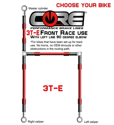 3T-E RACING FRONT BRAKE SYSTEM (CHOOSE BIKE)