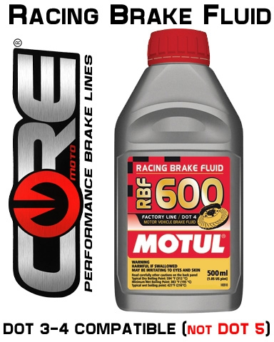MOTUL RBF 600 RACING BRAKE FLUID 500ML