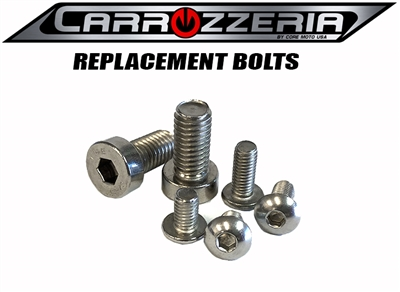 Carrozzeria motorcycle wheel bolts