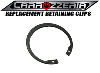 carrozzeria wheels bearing retaining clip