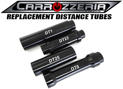 Carrozzeria motorcycle wheel distance tube
