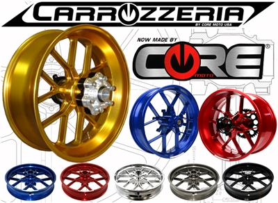 Carrozzeria VTrack Forged Wheels Ducati Monster 620 2002-2005