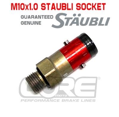 M10x1.0 Genuine Staubli quick disconect Socket