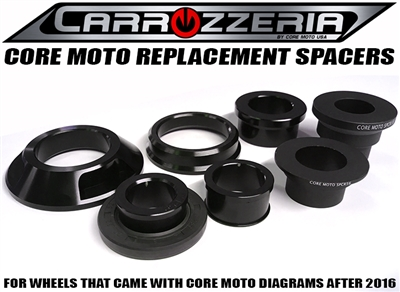 carrozzeria wheel spacers