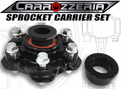 carrozzeria wheels sprocket carrier replacement