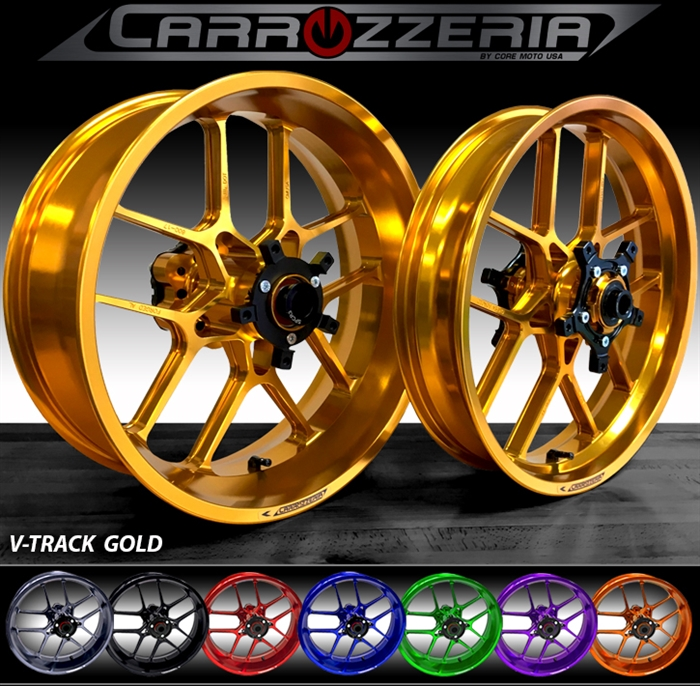 Carrozzeria Vtrack Forged Wheels Kawasaki Zx6r 636 2005 2017