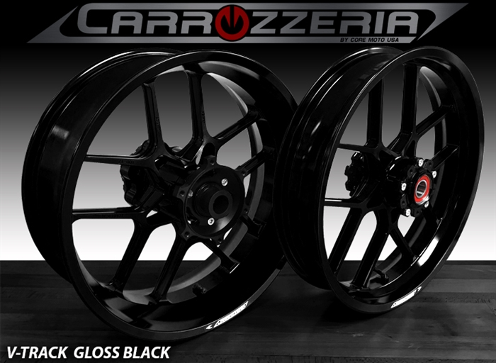 Carrozzeria VTrack Forged Wheels Kawasaki ZX14R 2006-2018 and SE