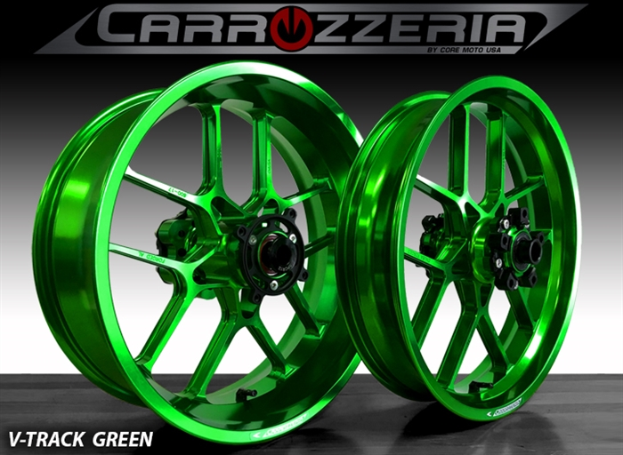 Carrozzeria VTrack Forged Wheels Kawasaki ZX14R 2006-2018 and SE Brembo  Model