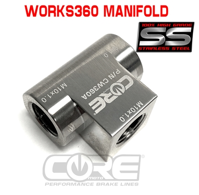 Works360 manifold block