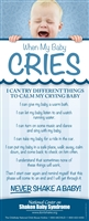 When My Baby Cries Bookmark (Available in SPANISH ONLY)
