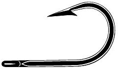7698BD MUSTAD ULTRA POINT FORGED BIG GAME J HOOKS 8/0 - 10 pack