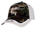 Get Reel Get Fish Snook 2 Tone Camo Cap