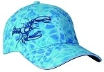 Get Reel Get Fish Ocean Blue Camo Jumbo Lobster Cap