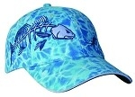 Get Reel Get Fish Ocean Blue Camo Jumbo Red Fish Cap