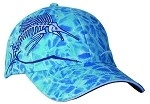 Get Reel Get Fish Ocean Blue Camo Sailfish Cap