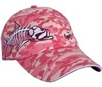 Get Reel Get Fish Ladies Pink Camo Tarpon Cap