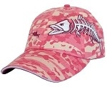 Get Reel Get Fish Ladies Pink Camo Kingfish Cap