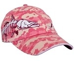 Get Reel Get Fish Ladies Pink Camo Snook Cap