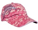 Get Reel Get Fish Ladies Pink Camo Sailfish Cap