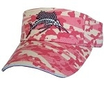 Get Reel Get Fish Ladies Pink Camo Sailfish Visor