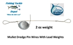 Mullet Dredge Teaser Pin Wires by Larry's Rigs