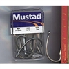 MUSTAD BAY KING #7754-DT FORGED EXTRA SHORT SHANK HOOK 12/0 - 10 pack