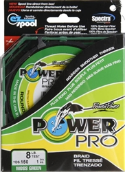 Power Pro Spectra  Premier Micro Braid 8LB. Test 150 Yard Spool