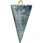PYRAMID FOUR SIDED LEAD FISHING WEIGHTS 2 OZ - 10 lb Bag