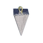 PYRAMID FOUR SIDED LEAD FISHING WEIGHTS 4 OZ - 10 lb. Bag