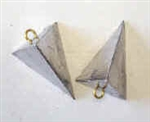 PYRAMID FOUR SIDED LEAD FISHING WEIGHTS 6 OZ - 10 lb. Bag
