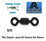 ROSCO S832-90 SERIES BLACK SWIVEL 9/0