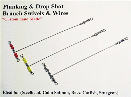 how to make a drop line for fishing