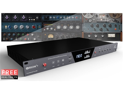 "Antelope Audio Orion32+ | Gen 3 - 64-channel Thunderboltâ""¢ and 32-channel USB AD/DA Converter"