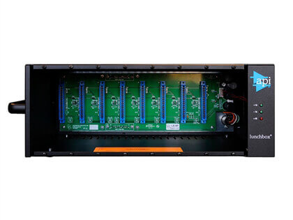 API 500-8B 8-slot Lunchbox with Universal Power Supply