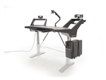 Argosy Halo E Ultimate Workstation Desk