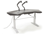 Argosy Halo G E Plus Sit-Stand Workstation Desk