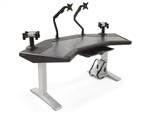 Argosy Halo G Ultimate Workstation Desk