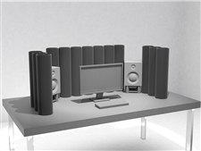 ASC Nano AttackWall Standard - Desktop Acoustic Environment