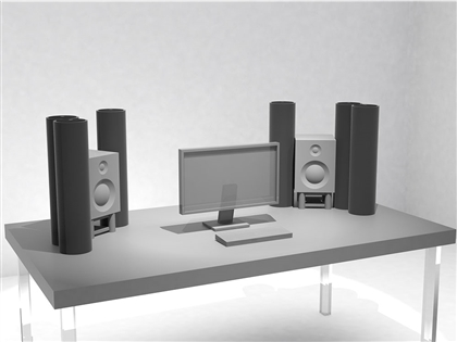 ASC Nano AttackWall Starter - Desktop Acoustic Environment