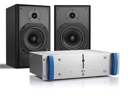 ATC SCM12 Pro- 2-Way Compact Passive Studio Monitor Speakers with P1 Pro Amplifier B-STOCK