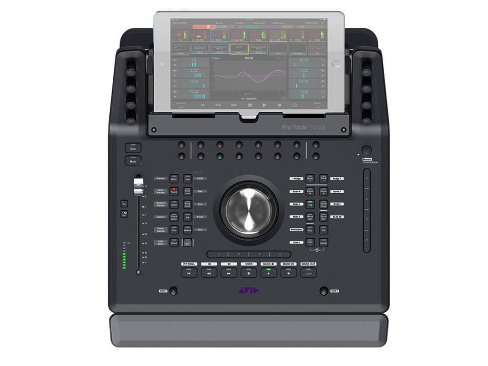 Avid Pro Tools | Dock Control Surface for iPad