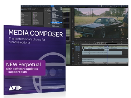 Avid Media Composer Perpetual License NEW (Download)