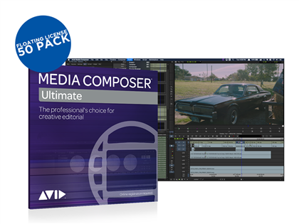 Avid Media Composer Ultimate - Floating License 50 Pack