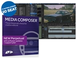 Avid Media Composer Video Editing Software - Perpetual Floating License (20 Seat)